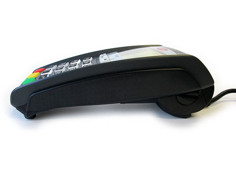 Ingenico iCT 220 Side View by Clearly Payments