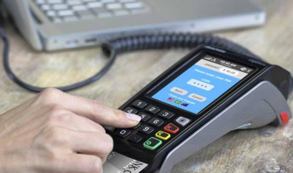 Ingenico Desk 5000 credit card terminal