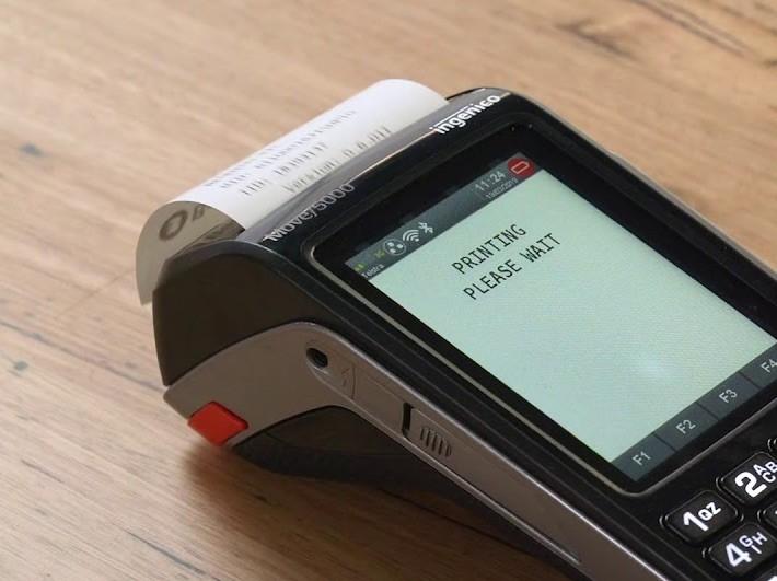 Ingenico Move 5000 receipt printer