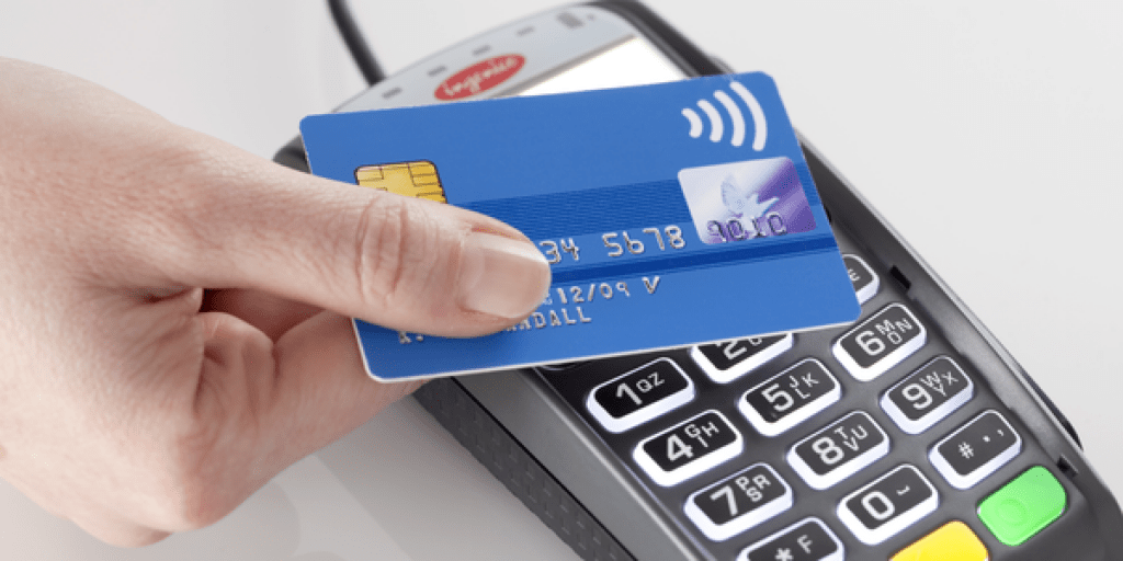 Tap to pay for contactless payments with dentists