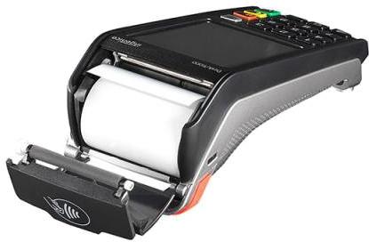Ingenico Desk 5000 has an integrated receipt printer
