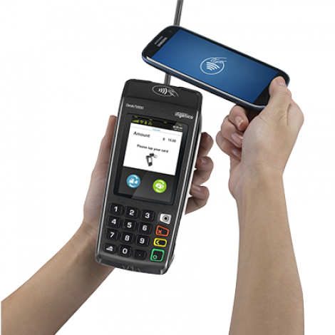 Ingenico Desk 5000 offers mobile contactless payments