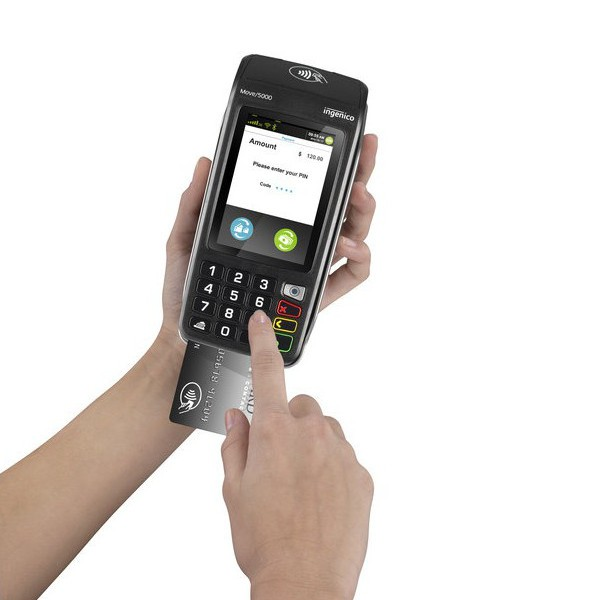 Ingenico Move 5000 Payment Terminal with chip and pin