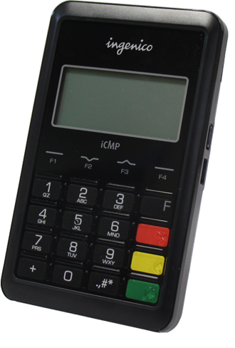 Ingenico iCMP mobile payment terminal