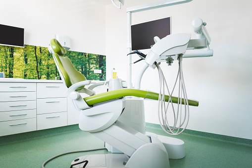 Dentist office with payment processing