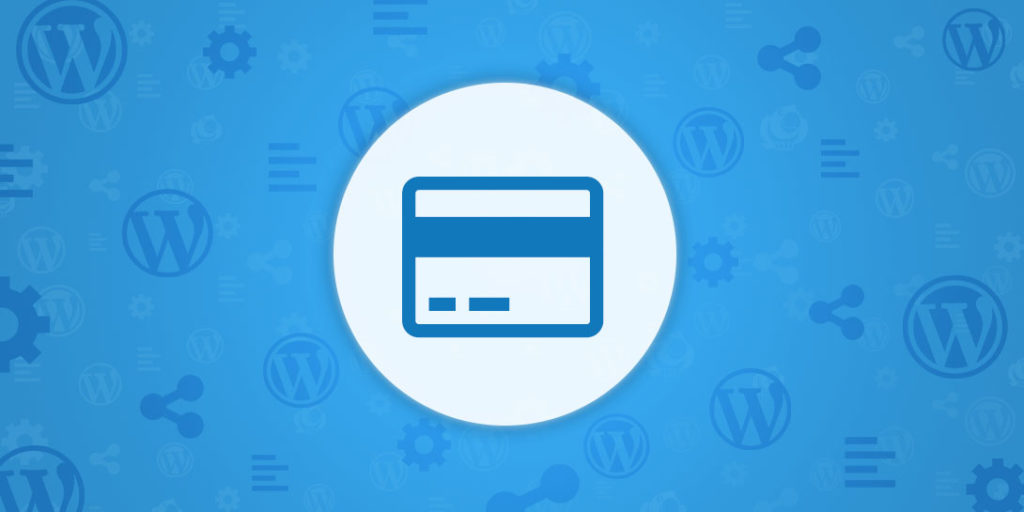 WordPress payments for online credit card processing
