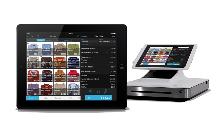 POS system with mobile device by Clearly Payments