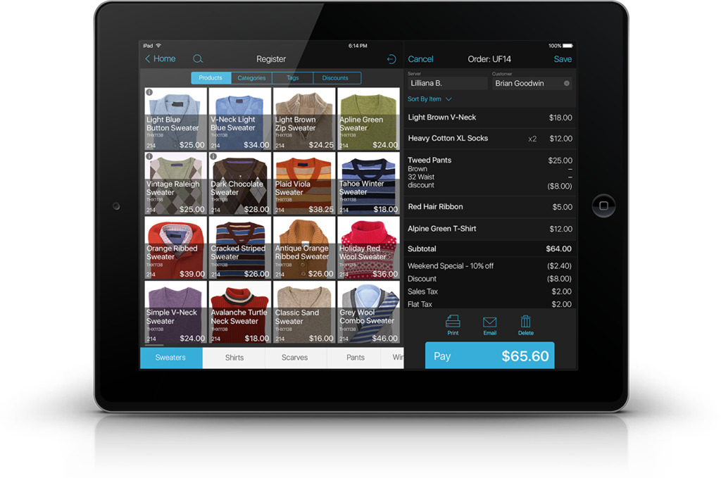 Mobile POS with low cost payment processing