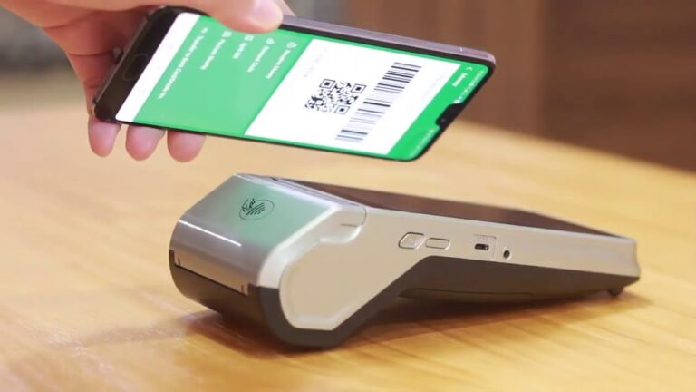 Newland n910 smart payment terminal by Clearly Payments